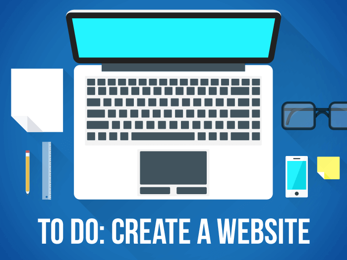 I Want To Open A Website - How To Open A Website - Create a Website